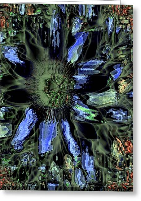 Best Sellers -  - Observer Greeting Cards - A Rare Flower to Find Greeting Card by Fania Simon