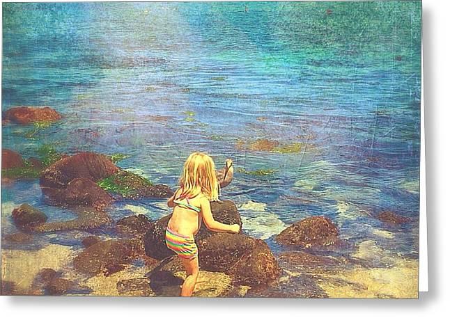 Pacific Ocean Prints Digital Art Greeting Cards - A real friendship  Greeting Card by Delona Seserman