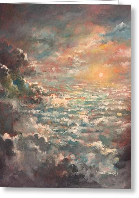 A Sea Of Clouds Greeting Card by Randol Burns