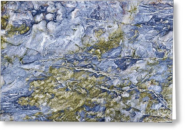 Geology Photographs Greeting Cards - A Sea of Stone Greeting Card by Tim Gainey