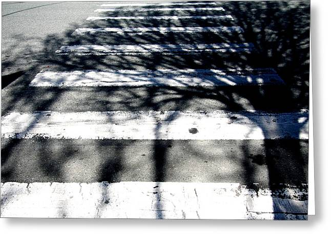 A Shadow Of It's Former Self Greeting Card by Kreddible Trout