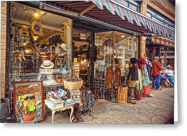 Store Fronts Greeting Cards - A Slice Of Life Greeting Card by Lynn Andrews