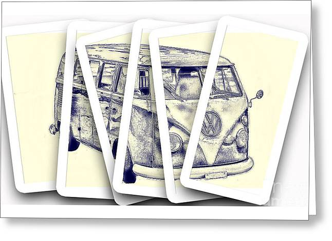 Chris Evans Greeting Cards - A Slice of Volkswagen Greeting Card by Chris Evans