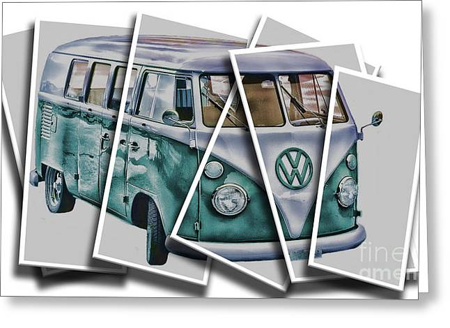 Chris Evans Greeting Cards - A slice of VW 3 Greeting Card by Chris Evans