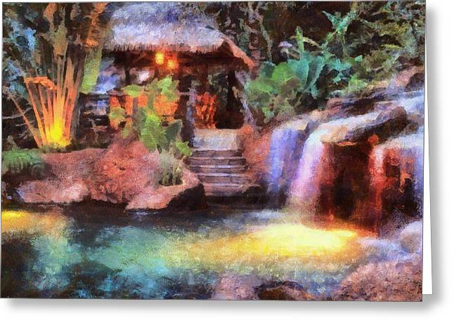 Photo Art Gallery Greeting Cards - A Spa for All Seasons Greeting Card by Mario Carini