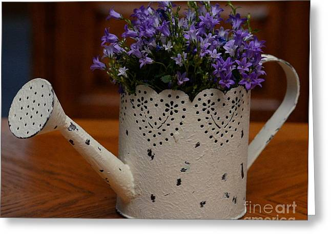 Sprinkling Can Greeting Cards - A Sprinkle Of Love... Greeting Card by Sharon Miller