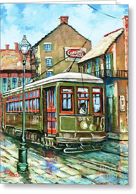 A Streetcar Named Desire Greeting Card by Dianne Parks