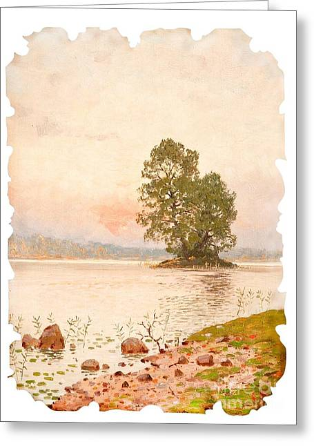 A Summer Evening Greeting Card by Celestial Images