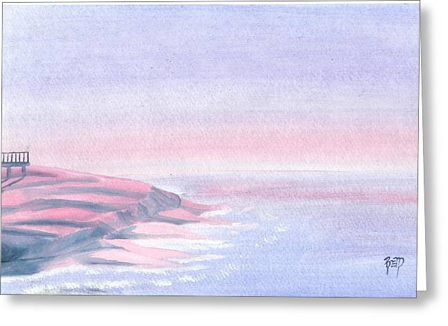 A Sunrise In Paradise... Greeting Card by Robert Meszaros