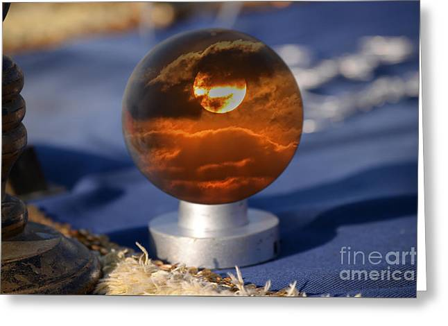 A Sunset In Your Future Greeting Card by Rick Bravo