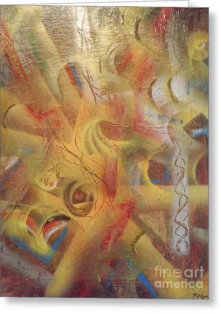 Helix Greeting Cards - A Tapestry of Dreams Greeting Card by Tanya Montgomery