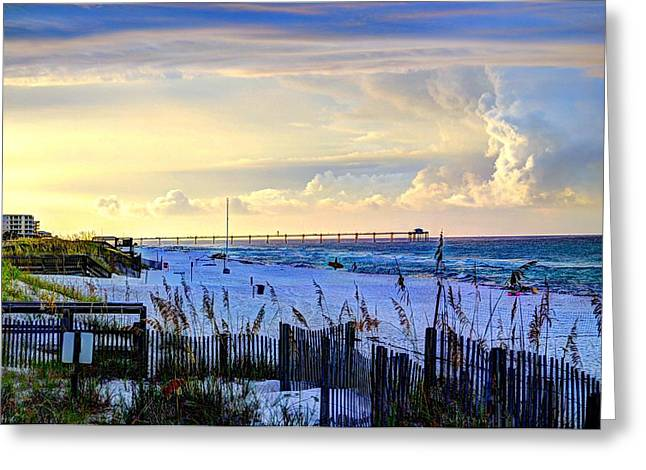 Destin Greeting Cards - A Taste of Heaven Greeting Card by David Morefield