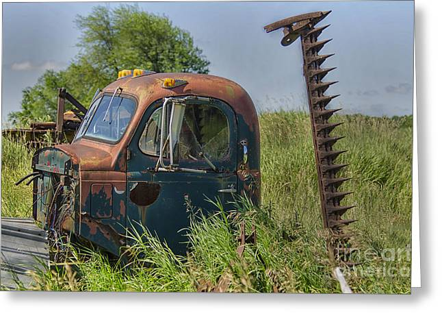 Farmers Field Greeting Cards - A Time Gone By Greeting Card by JRP Photography