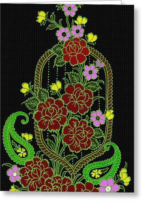 A Tisket A Tasket Greeting Card by Evelyn Patrick