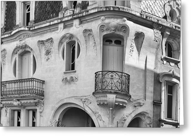 South West France Photographs Greeting Cards - A Very French House Greeting Card by Georgia Fowler