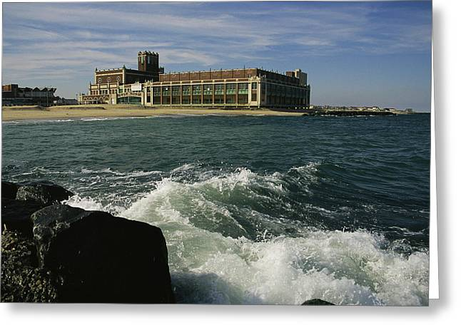 Middle Atlantic States Greeting Cards - A View Of The Seaside Convention Center Greeting Card by Ira Block