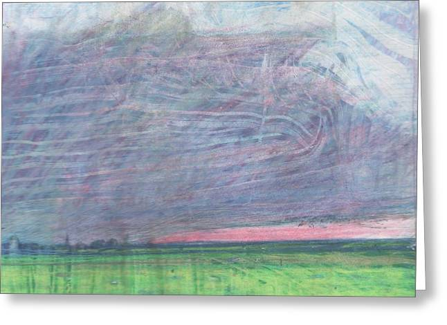 Pill Pastels Greeting Cards - A view towards Pilling  Greeting Card by Andy  Mercer