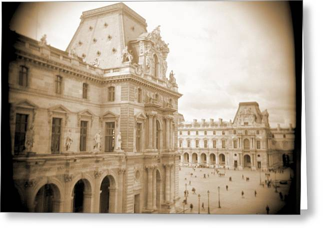 People Digital Greeting Cards - A Walk Through Paris 20 Greeting Card by Mike McGlothlen