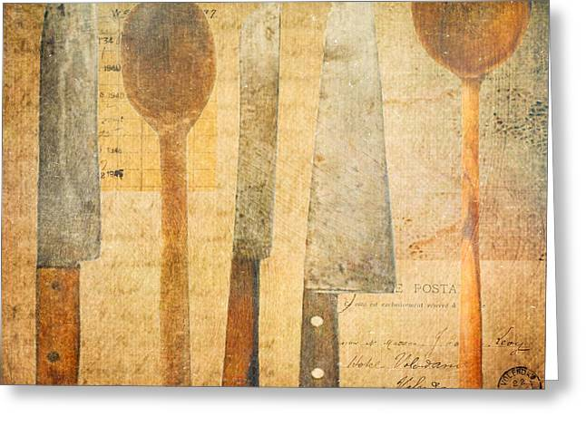 A Woman's Tools Greeting Card by Lisa Noneman