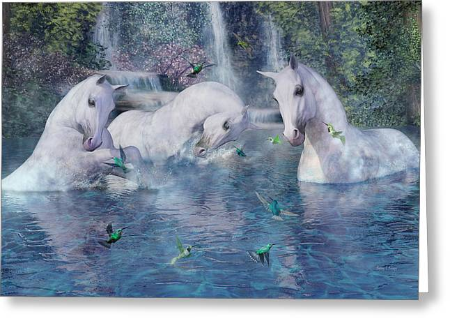 A World Beyond Greeting Card by Betsy C Knapp