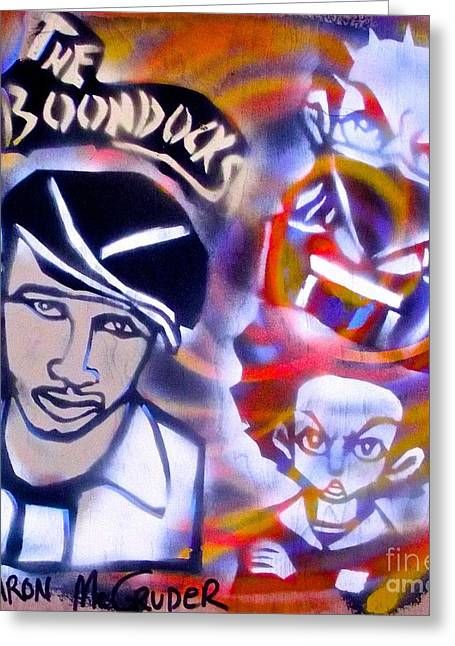 First Love Greeting Cards - Aaron Mc Gruders Boondocks Greeting Card by Tony B Conscious