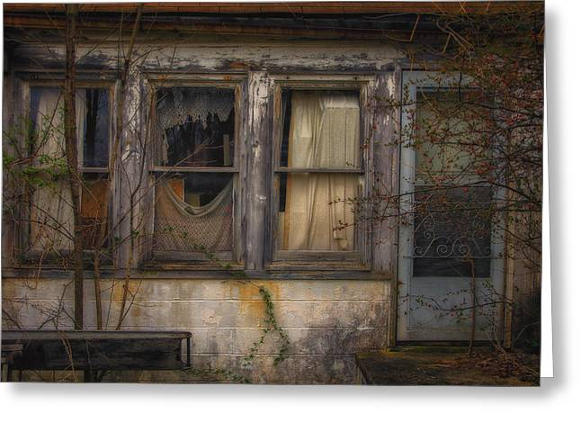Abandoned Houses Greeting Cards - Abandon house. Strongsville Ohio Greeting Card by Michael Demagall