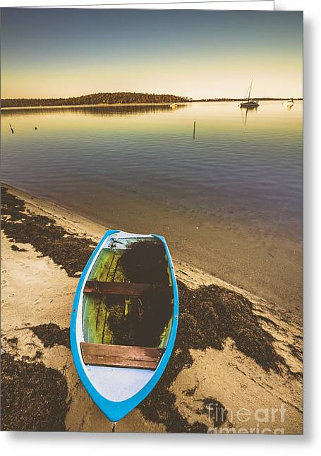 Abandoned Boat  Greeting Card by Jorgo Photography - Wall Art Gallery