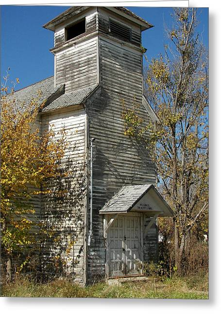 Historic Country Store Greeting Cards - Abandoned Country Store 2 Greeting Card by Julie Mangano