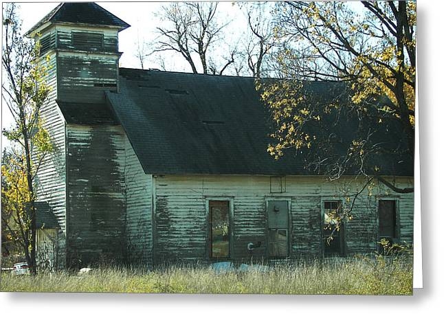 Hillsdale Greeting Cards - Abandoned Country Store Greeting Card by Julie Mangano