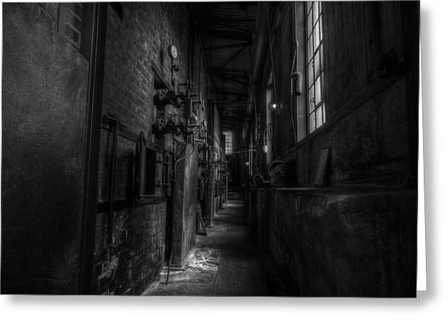 Industrial Concept Greeting Cards - Abandoned Factory Greeting Card by Frank Meitzke