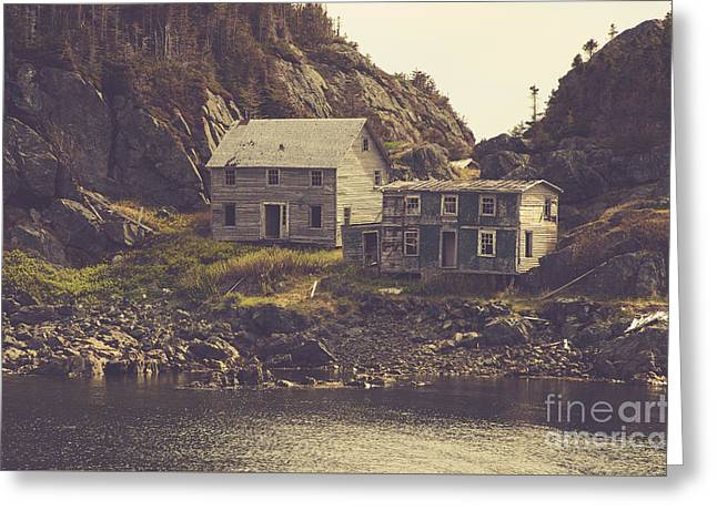 Abandoned Houses Greeting Cards - Abandoned Greeting Card by Lisa Killins