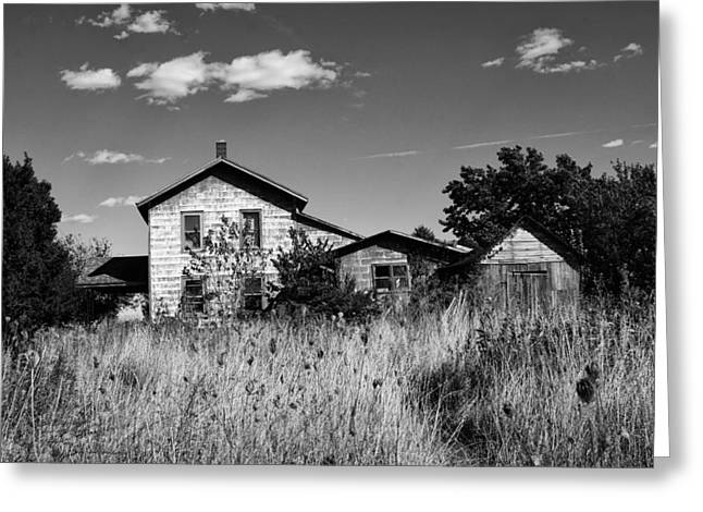 Abandoned Houses Greeting Cards - Abandoned Greeting Card by Off The Beaten Path Photography - Andrew Alexander