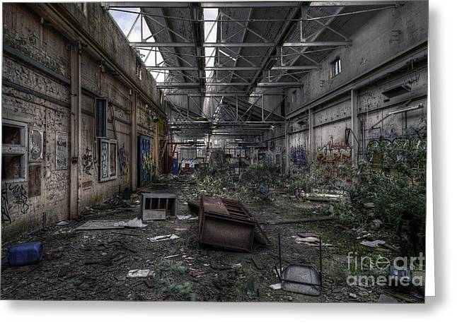 Abandoned Place Greeting Card by Svetlana Sewell
