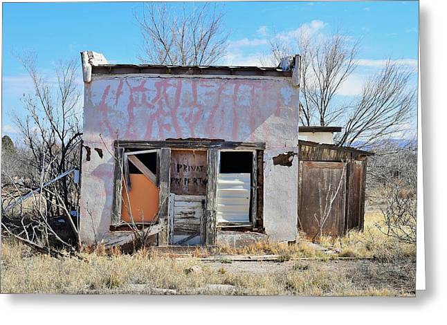 Shack Greeting Cards - Abandoned Shack in Texas Greeting Card by Mark Mitchell