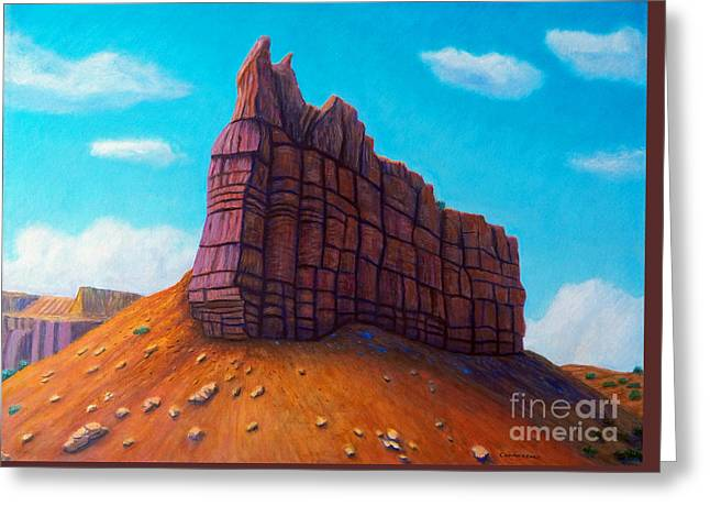 Abiquiu Greeting Card by Brian  Commerford