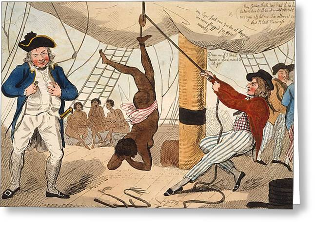 Slaves Greeting Cards - Abolition Of The Slave Trade Or Greeting Card by Ken Welsh