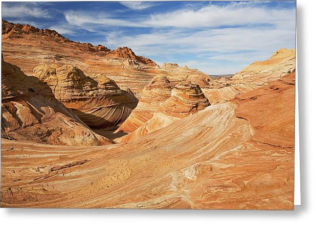 The Butte Greeting Cards - Above the Wave Greeting Card by Mike  Dawson