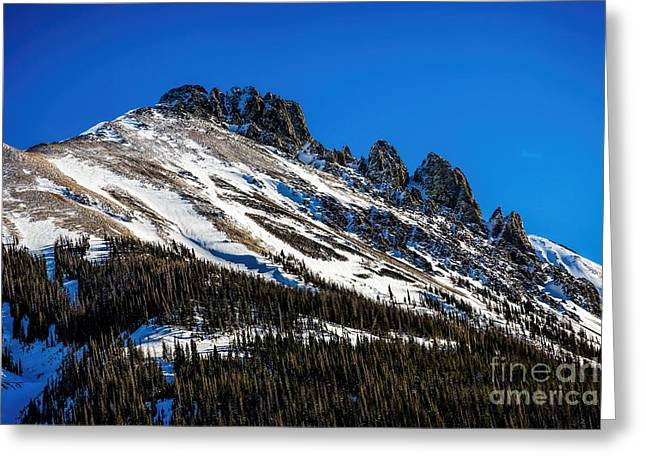 Temperature Greeting Cards - Above Timberline Greeting Card by Jon Burch Photography