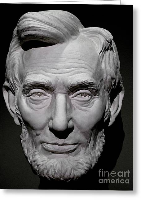 Republican Greeting Cards - Abraham Lincoln Greeting Card by Galen Trinkle