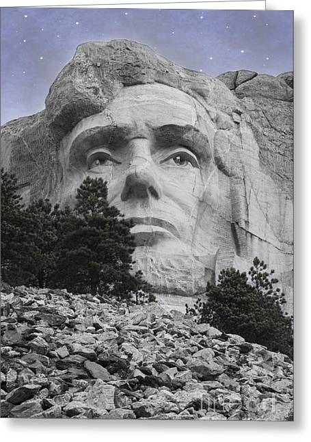 President Of America Photographs Greeting Cards - Abraham Lincoln Greeting Card by Juli Scalzi