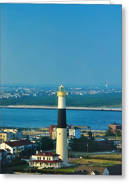 Beach Photograph Greeting Cards - Absecon Lighthouse Atlantic City Greeting Card by Bill Cannon
