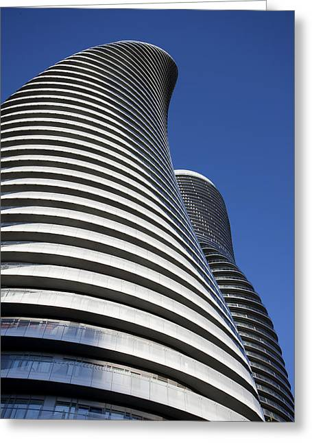 Modern Photographs Greeting Cards - Absolute Towers Mississauga Toronto Greeting Card by Mark Duffy