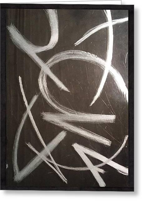 Art Sale Glass Art Greeting Cards - Abstar Greeting Card by Robert Zeman