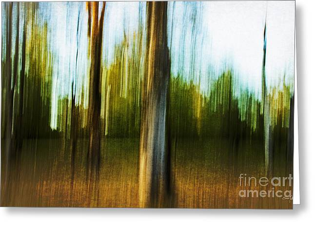 Abstract 1 Greeting Card by Scott Pellegrin