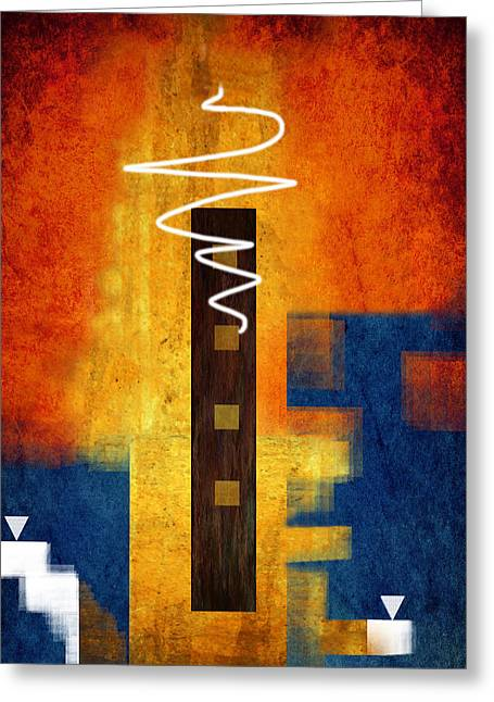 Abstract Style Greeting Cards - Abstract 12 Greeting Card by Sheela Ajith