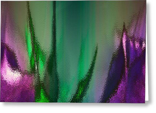 Abstract 2 Greeting Card by Gerlinde Keating - Keating Associates Inc