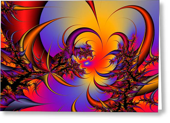 Abstract 2009041117 Greeting Card by Rolf Bertram