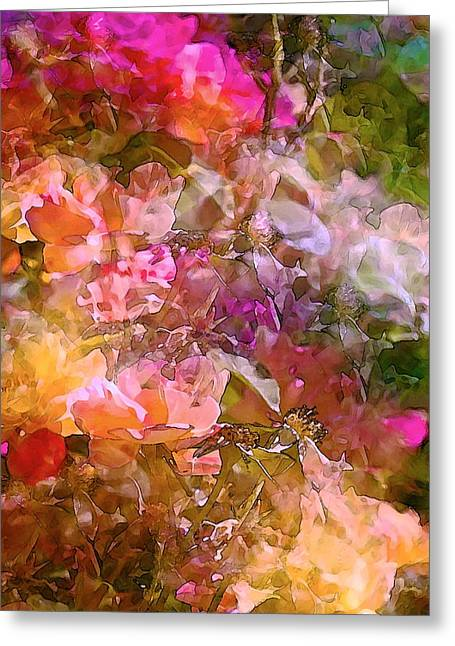 Pamela Cooper Greeting Cards - Abstract 276 Greeting Card by Pamela Cooper