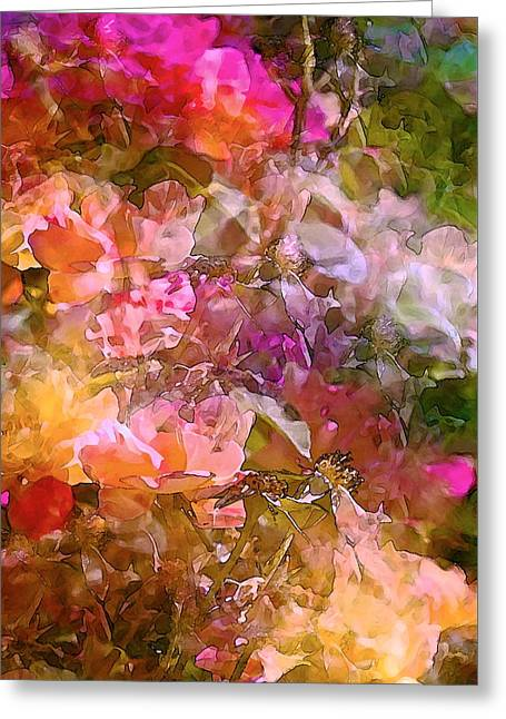 Abstract 276 Greeting Card by Pamela Cooper