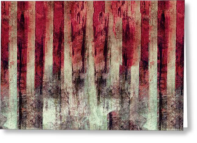 Abstract 4/16 Greeting Card by Filippo B